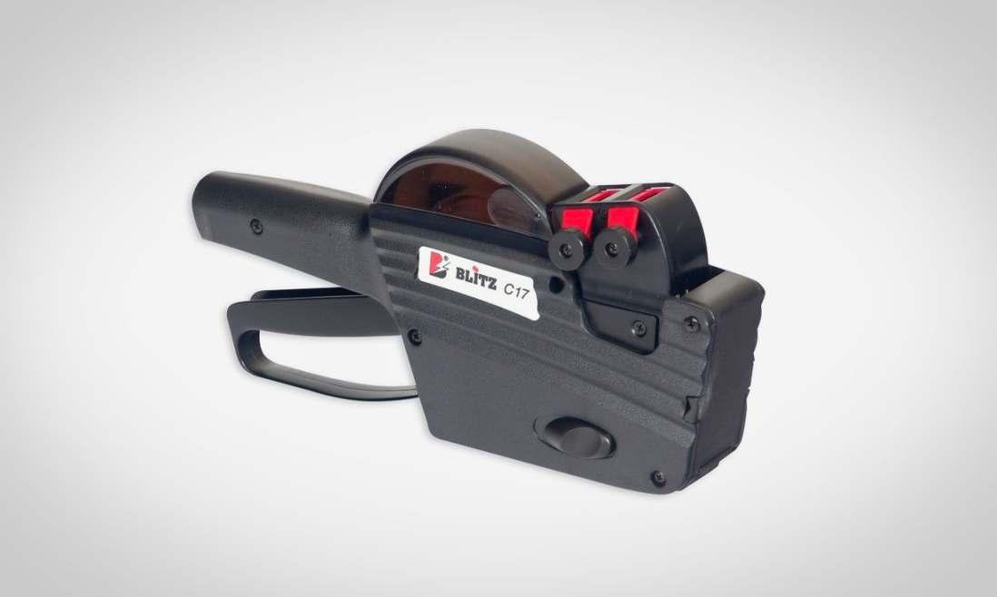 Этикет-пистолет двухстрочный Blitz C17