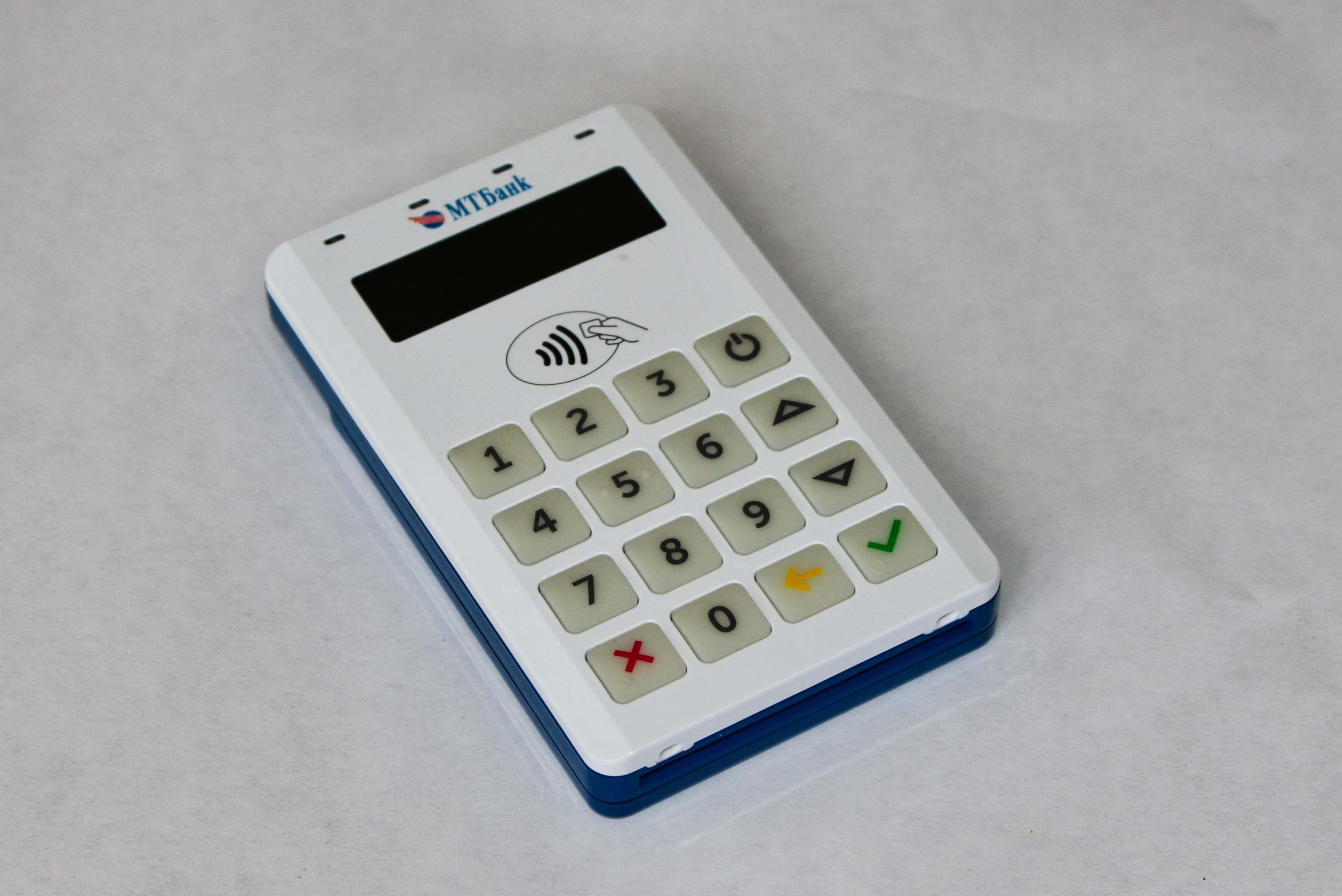 Мобильный платежный mPOS-терминал BluePad-50